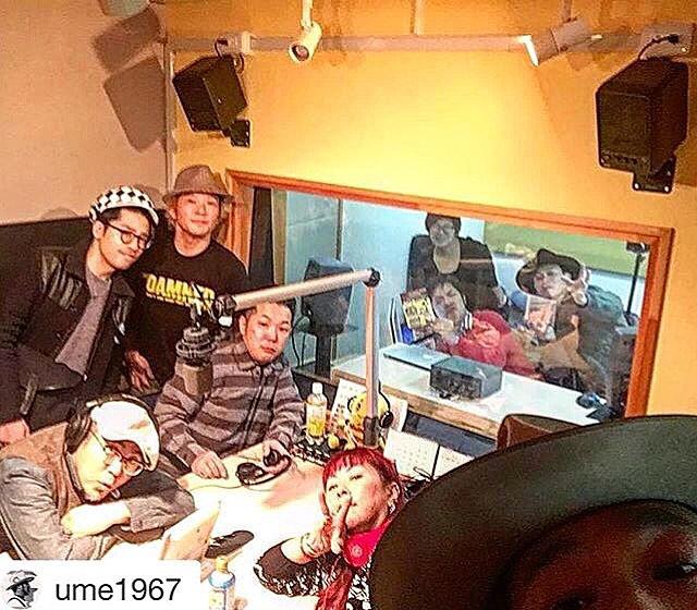FMラジオ(83.4Mhz)